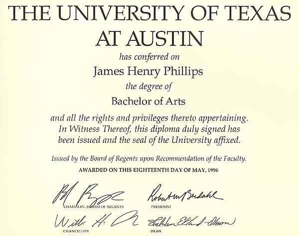 J Henry Phillips Language Credentials Credenciais De